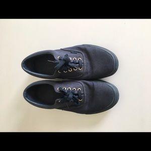 Dark blue men's size 11 vans shoes